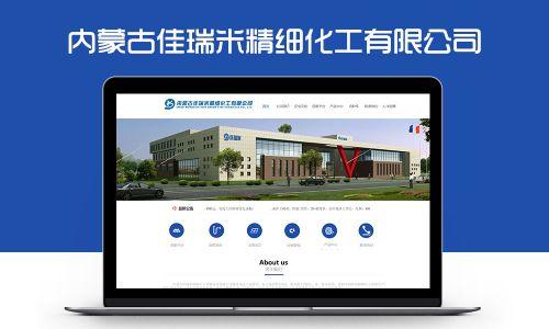 内蒙古佳瑞米精细化工有限公司网站案例