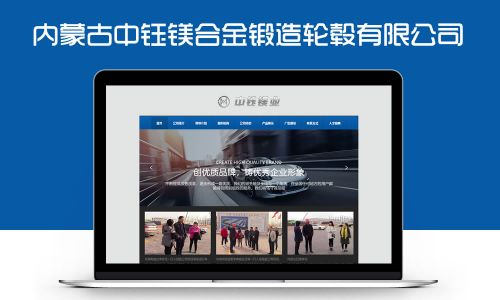 内蒙古中钰镁业有限公司网站案例欣赏