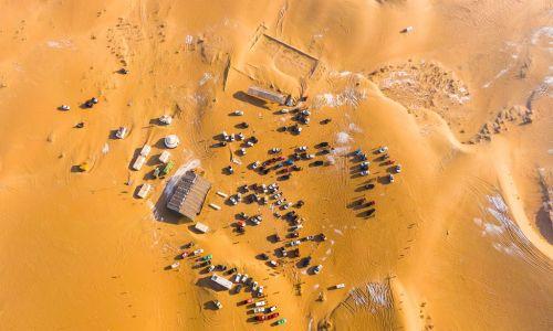 乌海家园、海纳科技协办沙漠纵队2020元旦《磴口乌兰布和沙漠越野挑战赛》活动