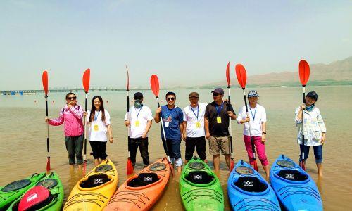 海纳科技皮划艇水上项目户外拓展活动